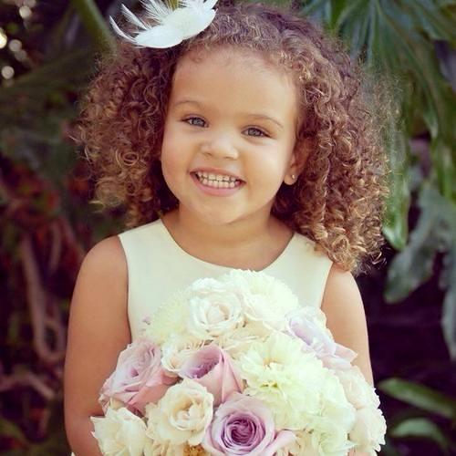 Très Enfant métis: L'entretien de ses cheveux bouclés | La Gourmande HipHop GA81